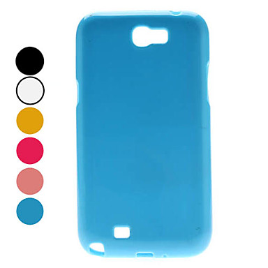 Caso Estilo simples macio para Samsung Galaxy Nota 2 N7100 (cores sortidas)