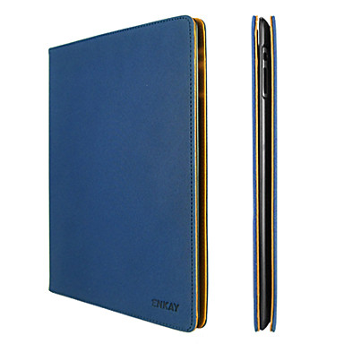 Enkay denim beskyttende taske med stativ til iPad 2/3/4