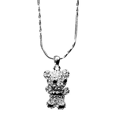 Diamond Cubs Alloy Necklace