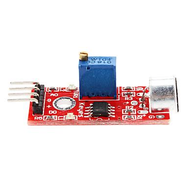 (Per arduino) modulo di rilevamento sonoro modulo sensore sonoro