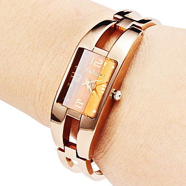 Women's Hollow Style Alloy Analog Quartz Bracelet Watch (Bronze) Cool Watches Unique Watches