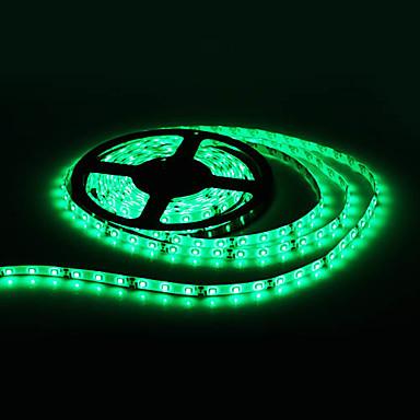Vesitiivis 5M 300x3528 SMD Green Light LED Strip lamppu (12V)