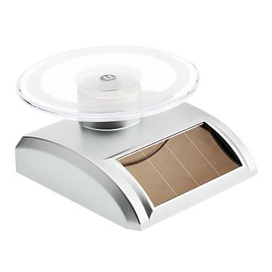Solar Powered Rotating Display Turn Table Plate