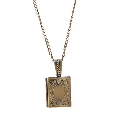 Men's Pendant Necklace Vintage Necklaces Copper Alloy Pendant Necklace Vintage Necklaces , Daily
