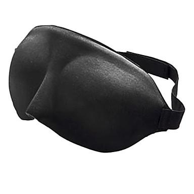 Máscara de Viaje para Dormir 3D Portátil Telones Ajustable Cómodo Descanso en Viaje Sin costura Transpirabilidad 1 juego para Viaje