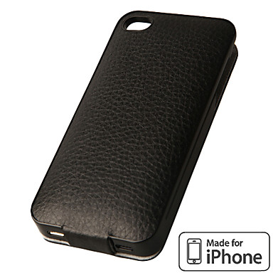 iFans Leather Power Pack EL-IP4-02 für iPhone 4 4S (Farben sortiert, 1450 mAh, MFi License)
