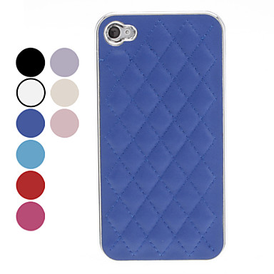 Lattice Design Hard Case for iPhone 4/4S (Assorted Colors)