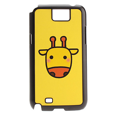 Cartoon Deer Pattern Hard Case voor Samsung Galaxy Opmerking 2 N7100