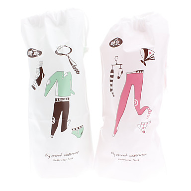 Household Travel Underwear Pouch Bag Air Mail Pack (2-Pack)