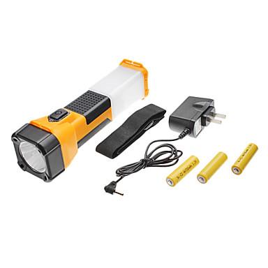 td-2058 2-Mode LED ensemble de lampe de poche (3 piles AA, multicolore)