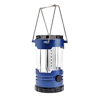 0999 Camping 1 en modo luz de la linterna de 12 LED con el compás (3xd de células, azul)