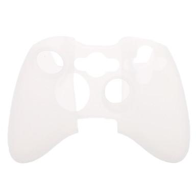 Funda de silicona protectora para el controlador de PS3 (Blanco)