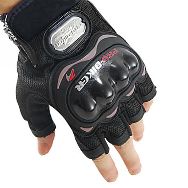 Cotton+Rubber Non-Slip+Breathable Short Finger Motocycle/Cycling Gloves MCS-04C