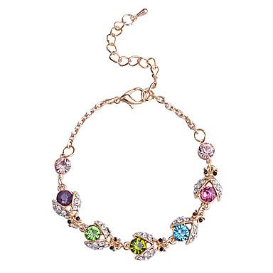 Dames Kristal Strand Armbanden - Kristal, Verguld Armbanden Paars Voor Feest / Dagelijks / Causaal