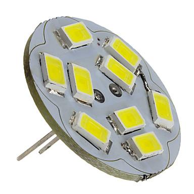 2W 6000 lm G4 LED Spotlight 9 leds SMD 5730 Natural White DC 12V