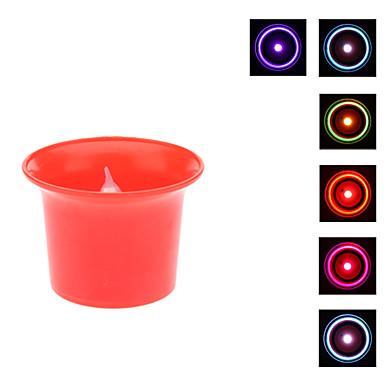 צבע בצורת גביע נר שינוי אור הלילה
