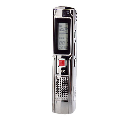 Professional Digital Voice Recorder with LCD Display (4GB)