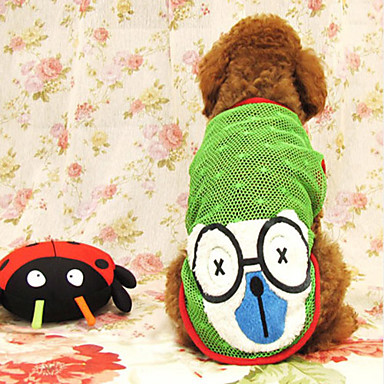Lovely Confused Bear Pattern Hollow Out Summer Style Skirt for Dogs (Assorted Color,S-XXL)