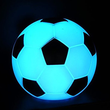 Soccer Shaped LED Night Light (Random Color)