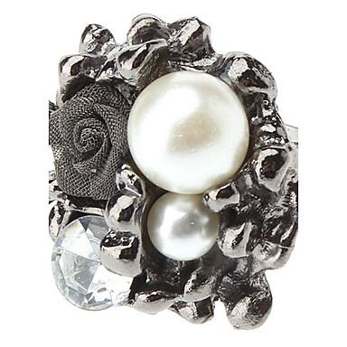 z&x® rosas de la mujer perla anillo abierto