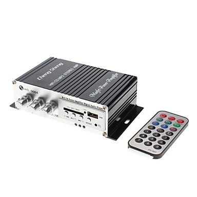 2-kanaals 80W Hi-Fi Stereo versterker MP3-speler voor in de auto Motorfiets (FM / SD / USB, HS-9004)