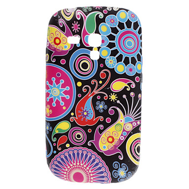 Special Design Pattern TPU Soft Case for Samsung Galaxy S3 Mini I8910