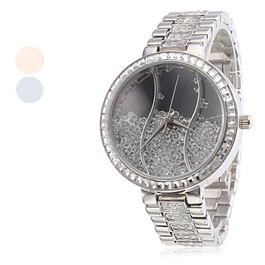 Moda Feminina Estilo Quartz Liga Bracelet Watch analógico (cores sortidas)