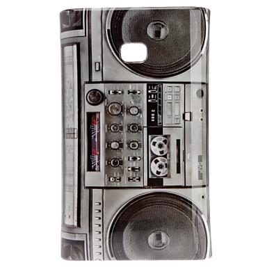 Radio Pattern Hard Case for LG E400/L3