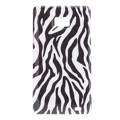 Zebra streep patroon Hard Case voor Samsung Galaxy S2 I9100