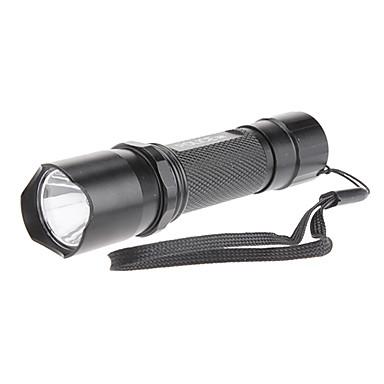 Tragbare 1-Mode 3W LED Flashlight (1xAA)