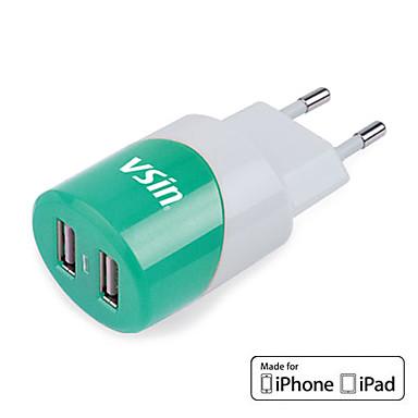 Мини-USB зарядное устройство VT011 с iPhone 4 Кабель 1,2 м для iPhone, IPAD и более (МФО лицензии, ЕС Plug)