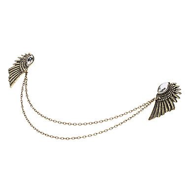 금속 날개가 오거 목걸이 클램프를 설정