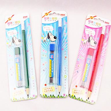 2PCS Mechanical Pencil/Pencil lead(Random Colors 1PCS)
