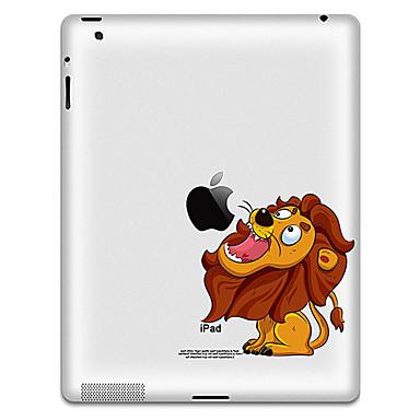 Lion Pattern Protective Sticker für iPad 1, iPad 2, iPad 3 und das neue iPad