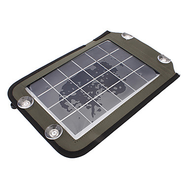 Portable Solar Charger YG-050 for Mobile Charger Adapter (5.3v, 830 mA)