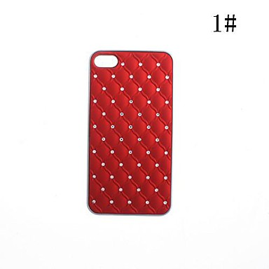 Zircon Palstic Case for iPhone 4/4S(Assorted Colors)