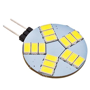 4W G4 Luminárias de LED  Duplo-Pin 15 SMD 5630 350 lm Branco Natural AC 12 V