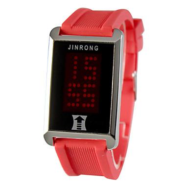 Silicone Digital LED orologio da polso da uomo (colori assortiti)