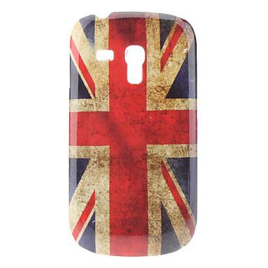 Flag Caso duro del patrón del Reino Unido para Samsung Galaxy S3 I8190 Mini