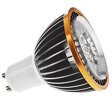 Dimmable Spot Lights , GU10 5 W 5 High Power LED 350 LM Natural White MR16 AC 220-240 V