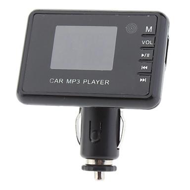 Universale da 1,5 pollici schermo LCD auto mp3 modulatore FM Player con telecomando