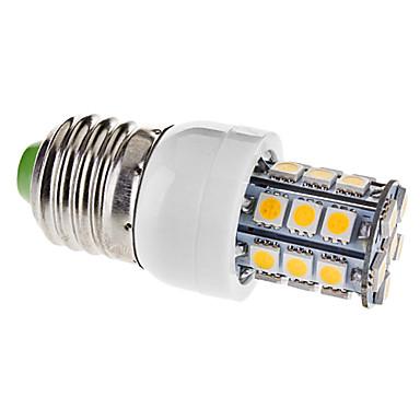 e26 / e27 led mısır ışıkları t 27 smd 5050 330lm sıcak beyaz 3000k ac 110-130v
