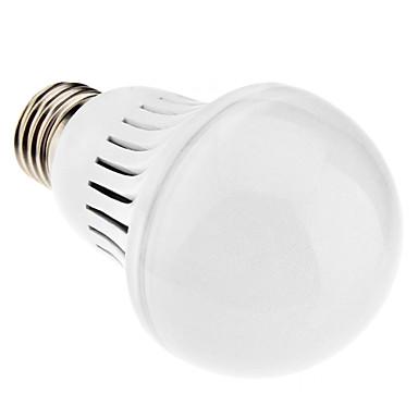 6000 lm E26/E27 LED-pallolamput A60(A19) 46 ledit SMD 3014 Neutraali valkoinen AC 220-240V