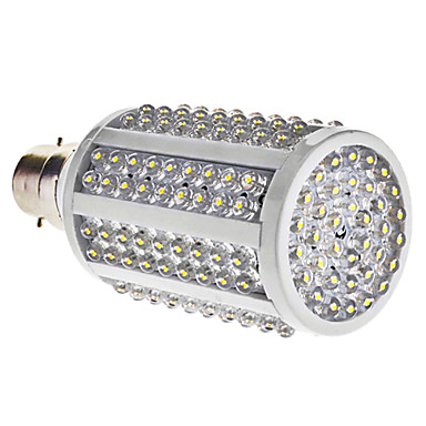 B22 - 8 Majs Glöslampor (Kall Vit 510 lm AC 85-265