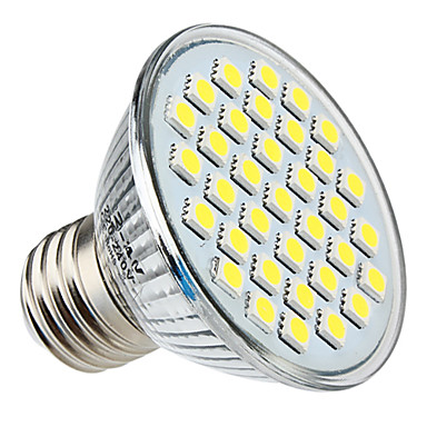 E26/E27 4 W 35 SMD 5050 350 LM Natural White PAR Spot Lights AC 220-240 V