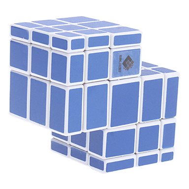 Irregular Conjoined Brain Teaser Magic IQ Cube (Blue)