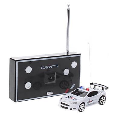 01:58 Radio Control Mini Voiture de police avec la lumière et l'alarme sonore (Modèle: 2006d-4)