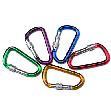 Carabiners Durable Climbing Outdoor Aluminium Alloy cm 1/5 pcs