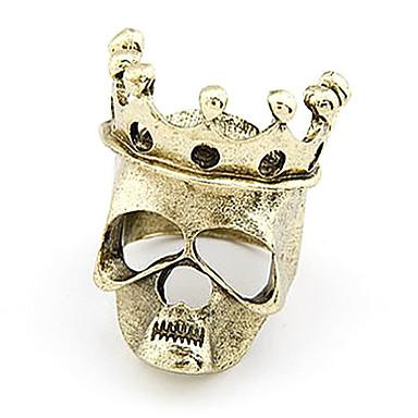 Cráneo de la cadencia del timbre Corona Real aleación de la vendimia (colores surtidos)