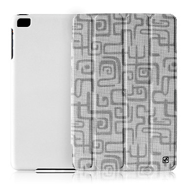 Solid Color Labyrinth Pattern Foldable Full Body Case with Stand for iPad mini (Assorted Colors)